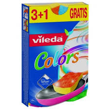 <b>Губка Pure</b> Colors 4 шт от <b>VILEDA</b>