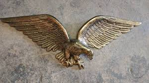 wall hanging brass eagle wonderful solid brass usa decoration 00t0t f5vthf5fryy 600x450