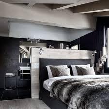 cool bedroom design black. Cool Bedroom Ideas For Men With Faux Fur Bedding Design Black S