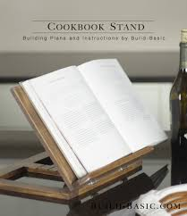 build a cookbook stand