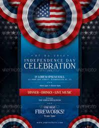4th Of July Flyer Template Free Under Fontanacountryinn Com