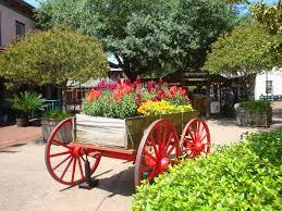 delightful outdoor garden flower wagon 4 free images lawn flower decoration green vehicle cottage
