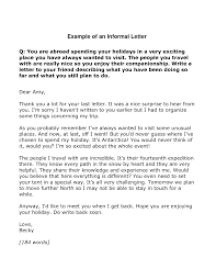 Informal Letters Examples Buscar Con Google Writing A
