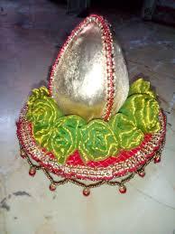 Decorative Nariyal Designs Silver Nariyal Decoration Wedding Crafts Engagement Ring