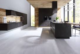 Modern Kitchen Designs Uk Alnostar Cera The New Ceramic Kitchen From Alno Uk In Oxide Nero