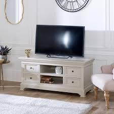 large tv media cabinet daventry grey range