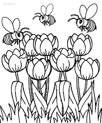 Small Picture Printable Tulip Coloring Pages For Kids Cool2bKids