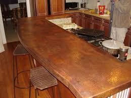 copper countertop for the future hammered counter tops ec ideas 4