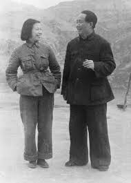 mao zedong biography facts com jiang qing and mao zedong 1945
