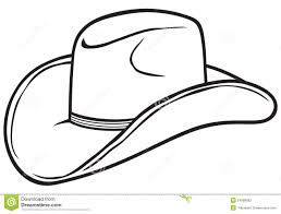 Small Picture Cowboy Hat Coloring Page 41185 And glumme