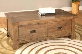 architecture the best coffee table with drawers ideas on oak within inside small tables 2 drawer
