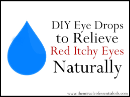 homemade eye drops with hydrosols