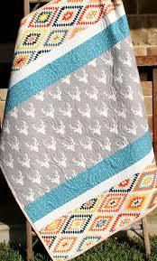 aztec baby quilt boy girl gender
