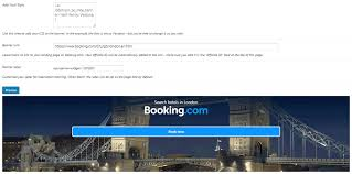 create individual booking ads with the banner creator plugin