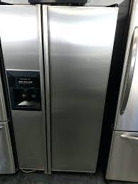 kitchenaid superba fridge side by side refrigerator kitchenaid superba refrigerator ice maker leaking water kitchenaid superba