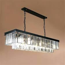 rectangle crystal chandelier rectangular modern art style light chrome finish clear diy rectangle crystal chandelier