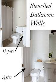 i ve been making over all of our bathrooms on a budget little by little and this time i m working on our playroom bathroom