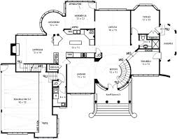 image of modern farmhouse plans with open floor plan concept full size