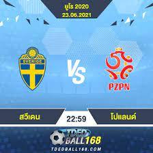 วิเคราะห์บอล [ ยูโร 2020 ] สวีเดน VS โปแลนด์ - tdedball168