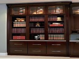 full size of furniture home cherry bookcase with bottom drawers glass doors within bookcases on prepare