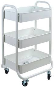 rolling office cart. Rolling Office Cart. Wonderful Storage Cart White Room Essentials With N R