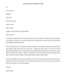Complaint Letter Format For Poor Service Complaint Letter For Bad