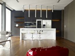 Kitchen Cabinets Refrigerator Interesting Kitchen Furniture And Refrigerator With Brown Kitchen