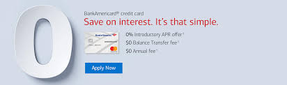bank americard credit card banner