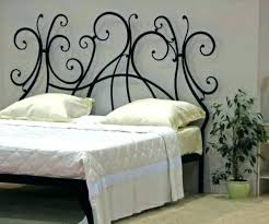wrought iron bedroom furniture. Fine Furniture Cast Iron Headboard Wrought Queen Medium Size Of Impressive  Ideas Bed Designs On Bedroom Furniture