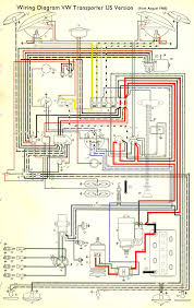 thesamba com type 2 wiring diagrams 1966 Econoline Ignition Switch Diagram 4 Terminal Ignition Switch Wiring