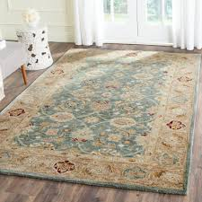 gorgeous ideas teal area rug home depot manificent design safavieh antiquity bluetaupe x rugs at decoration round mohawk large neutral white