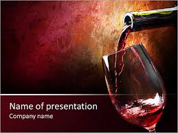 Wine Powerpoint Template Pouring Wine Powerpoint Template Backgrounds Google Slides Id