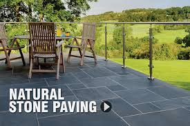 right paving for your garden patio