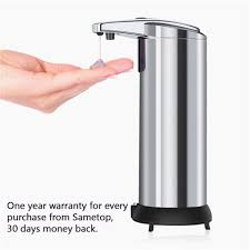 <b>Infrared</b> Motion <b>Sensor Stainless Steel</b> Touchless Automatic Soap ...