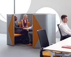 office pod furniture. Haven Office Pod Located Next To A Work Desk Furniture