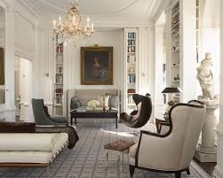 traditional modern furniture. example of a large classic enclosed dark wood floor living room library design in new york traditional modern furniture i