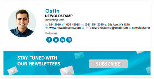 Email Signature Generator For Your Company Newoldstamp