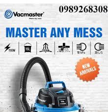Máy hút bụi công nghiệp thương hiệu Mỹ Vacmaster- Hút và thổi bụi khô/ướt- máy  hút bụi gia đình công suất lớn- Bảo hành 1 năm - Khác