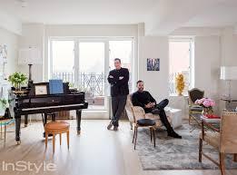 Nyc Living Room Peek Inside Isaac Mizrahis 4000 Square Foot Nyc Apartment