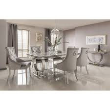 marble living room table. Arianna Marble Dining Table Grey Living Room M