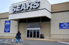 a woman enters a sears in alexandria virginia as the iconic american retailer sears filed for chapter 11 bankruptcy on october 15