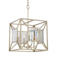 quoizel sabrina 16 in 6 light imperial bronze wrought iron cage chandelier