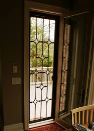 image of wrought iron security doors image