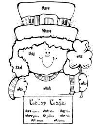 Sight Word Leprechaun free sight words coloring pages for kids printable coloring sheets on sight words handwriting worksheets