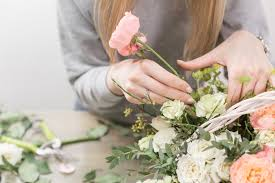 Cass Floral Design School Spring Basket Floral Design Workshop 04 22 19