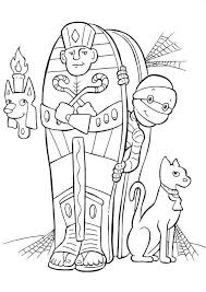Small Picture Halloween Coloring Pages Mummy Halloween Halloween Coloring