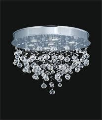 ceiling mount chandelier lighting design ideas crystal ceiling lights modern raindrop crystal modern ceiling mount chandelier
