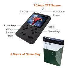 Máy Chơi Game Cầm Tay Mini Coolbaby Rs-6A 8-bit Tích Hợp 168 Trò Chơi    Nông Trại Vui Vẻ - Shop