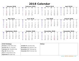 2018 calendar printable free printable 2018 calendar