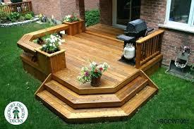 Small Deck Designs Backyard Amazing Small Backyard Deck Ideas NapaWineTours
